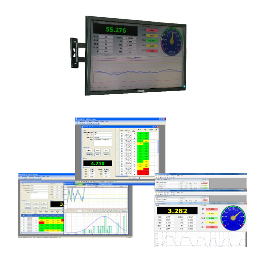 integration of laser distance meters on computer systems for industry 4.0 and for the remote acquisition of profiles and lengths