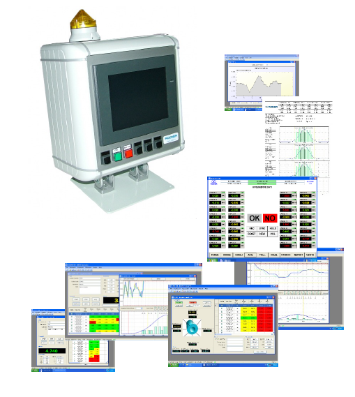 integration of laser distance meters with multi-unit control units and customized software