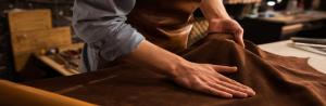 RODER mäter tjockleken på läder och artefakter