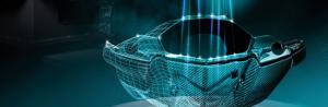 RODER laserskanner för profilometri och punktmoln