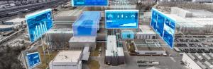 industriella laseravståndsmätare för avstånds- och positionsmätning med fjärrkontroll på skärmen