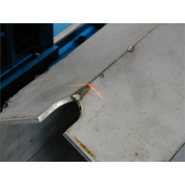 Profile measurement of pressed, sheared, drawn or welded sheet metal parts