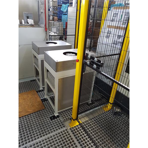 Islas de control automático para la medición de diámetros y ovalidades de piezas realizadas en centros de mecanizado