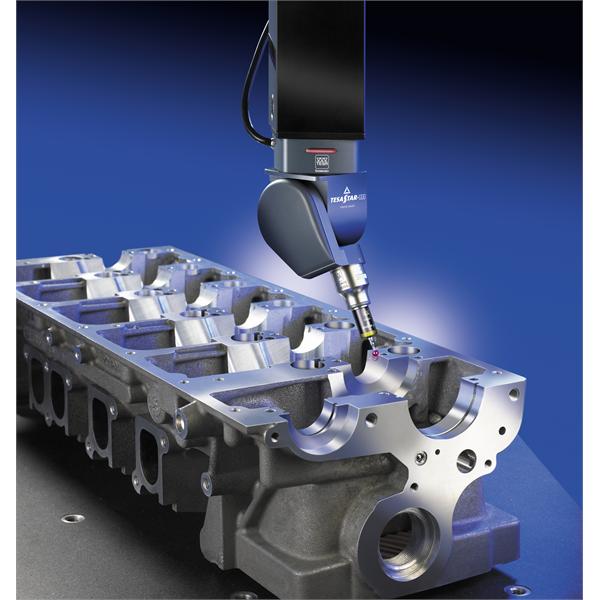 3D CMM-mätsystem för automatisk styrning av dimensionella och geometriska egenskaper i produktionslinjen