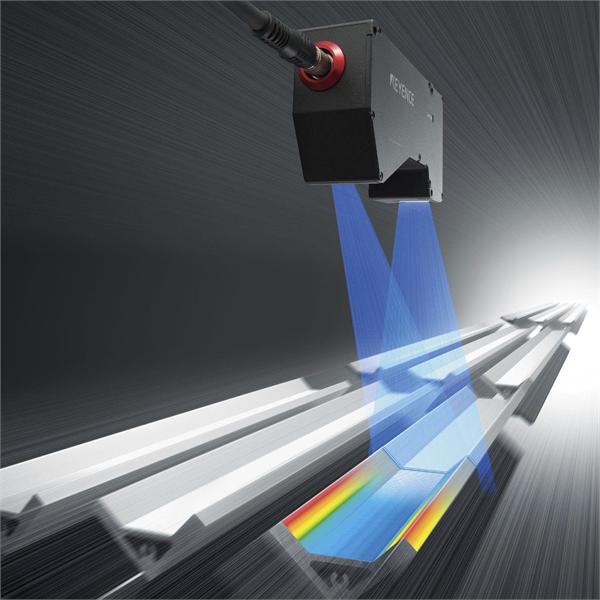 LASEROVÝ skener pro dimenzionální a geometrické řízení kontinuálních produktů na výrobní lince