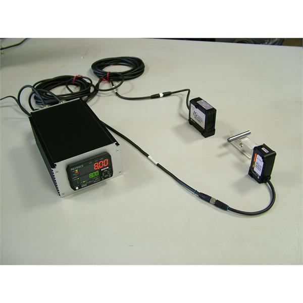 LASEROWE przyrządy pomiarowe do badań laboratoryjnych z oprogramowaniem do akwizycji danych