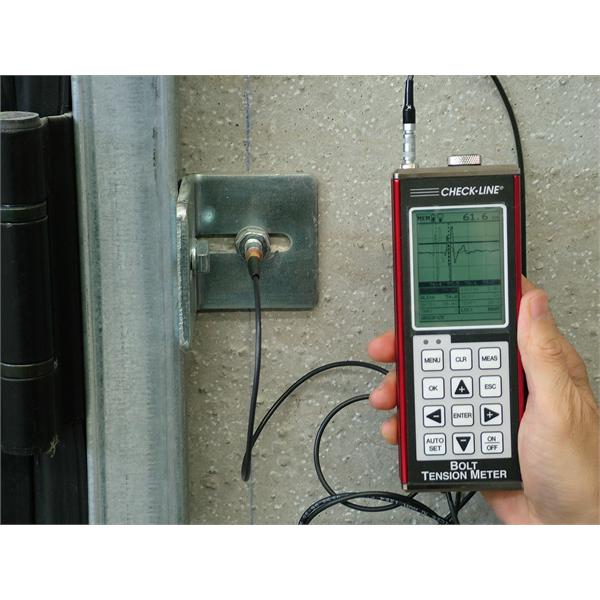 Systemer til forlængelse og trækkontrol på bolte og forbindelsesstænger med ultralydsinstrumenter