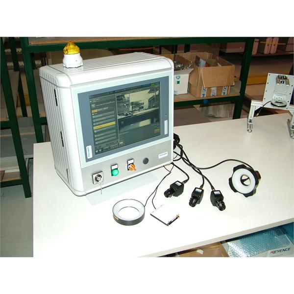 Kunstige vision-systemer til integritetskontrol, OCR-genkendelse og dimensionskontrol i produktionslinjen