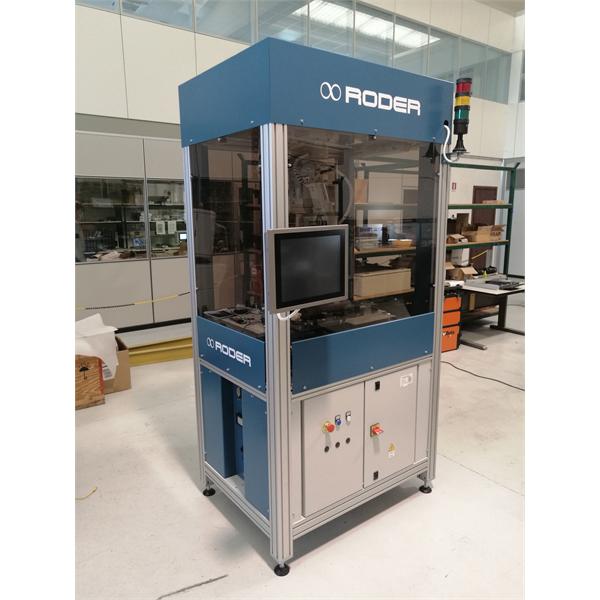 Maszyny do sortowania części ścinanych, formowanych lub obrabianych CNC