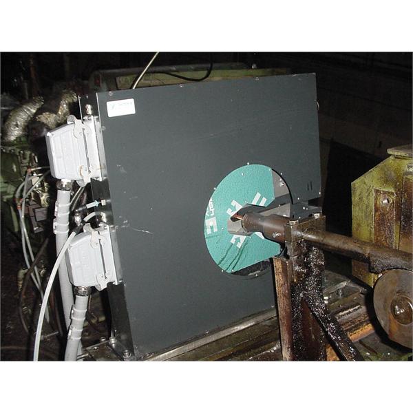 Control dimensional de barras trefiladas en la línea de producción