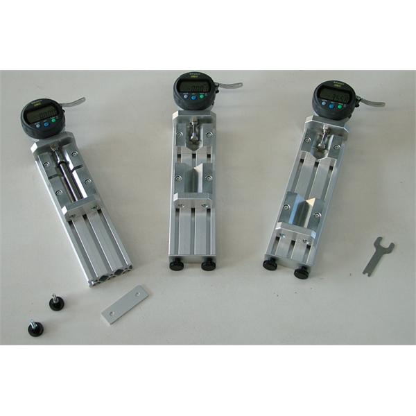 Manuelt udstyr til dimensionel og geometrisk styring med kontaktsonder