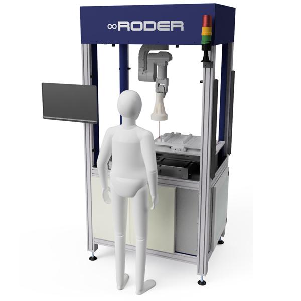 Robotøyer for kvalitetskontroll med kunstige visjonssystemer