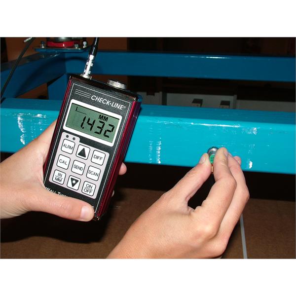 Instrumentos de medición ultrasónicos para mediciones de espesores